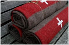 authentic Swiss Army wool blanket.