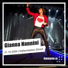 Belissima! Giannissima! Gianna Nannini! 🤩🇮🇹🤘  ⭐ VVK-Start Live Club: 01.11.2019, 8 Uhr 🎟️ VVK-Start: 04.11.2019, 10 Uhr Pop Rocks, Club, Live, Concert, Recital, Festivals