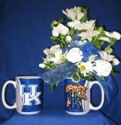 University Of Kentucky Mug Bouquet