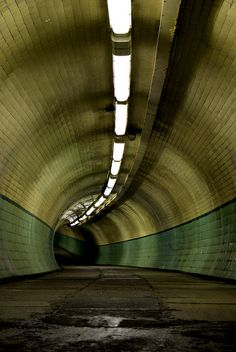 I seem to have a weird fascination with tunnels lately. I wonder how this will fit into my writing