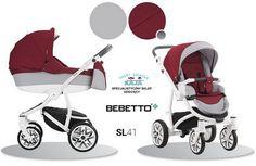 Wózek Bebetto TORINO 2 w 1 kolor SL41 - Bebetto TORINO-Wózki 2w1 (głęboko-spacerowe) - Kaja Świat Dziecka Gliwice