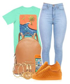 """Wave$"" by chanelesmith51167 ❤ liked on Polyvore featuring art"