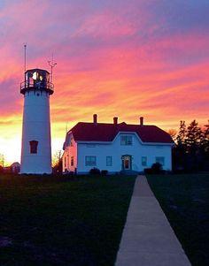 Sunrise Chatham Cape Cod Lighthouse | By Christopher Suefert