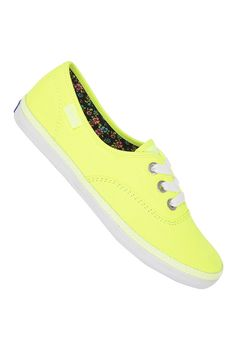 KEDS Womens Rookie Neon yellow by planetsports