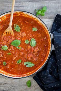 Frische Tomatensauce mit Salsiccia