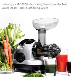Benefits Of A Masticating Juicer There Are Multiple Benefits Of Using A Masticating  Juicer. As