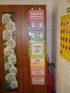 What's on this teacher's mind? Clip Chart behavior management. Goes perfect with calendars from Teaching with love and laughter