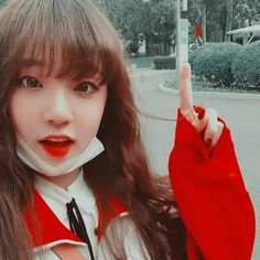 ImageFind images and videos about kpop, aesthetic and red on We Heart It - the app to get lost in what you love. Aesthetic People, Red Aesthetic, Kpop Aesthetic, Aesthetic Photo, Mamamoo, Uzzlang Girl, Cute Icons, Iconic Women, Soyeon