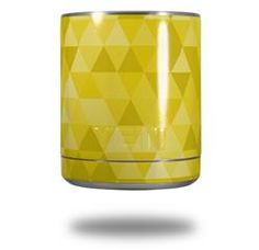 05aef4a496a Triangle Mosaic Yellow - Decal Style Skin Wrap fits Yeti Rambler Lowball ( YETI NOT INCLUDED)