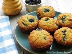 LOVE THESE! Blueberry Coconut Flour Muffins (Paleo) | The Gluten-Free Homemaker
