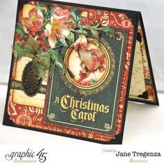 Christmas Carol Pop Up Cards - Card 1 (1)