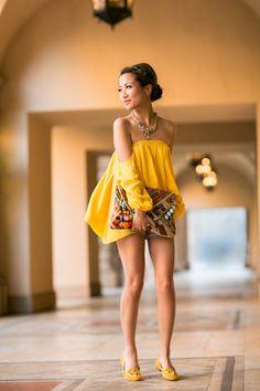 Top :: Boulee Bottom :: Armani Exchange (old) (similar here) Bag :: Antik Batik Shoes :: Charlotte Olympia Accessories :: Lulu Frost