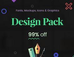 """다음 @Behance 프로젝트 확인: """"Ultimate Creative Design Resources Bundle"""" https://www.behance.net/gallery/45452517/Ultimate-Creative-Design-Resources-Bundle"""