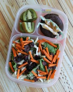 Super salad ideas packed for work lunch!