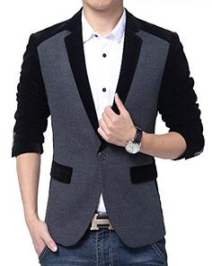 2017 New Arrival Jacket Male Fashion Brand Casual Slim Fit Suit Blazers Clothing Hight Quality Costume Waistcoat Homme Mens Blazer Outfits Men, Mens Fashion Blazer, Casual Blazer, Man Fashion, Fashion Brand, Mens Casual Suits, Stylish Suit, Mens Suits, Traje Casual