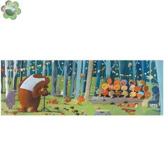 Puzzle Leśni przyjaciele Djeco DJ07636
