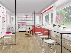 Related image Coco Games, Retail Store Design, Singapore, Nail Bar, Pop, Interior, Furniture, Home Decor, Beauty