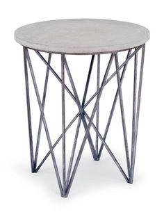 Regina Andrew Design - Cecil Accent Table in Black Iron - 55-61-0185