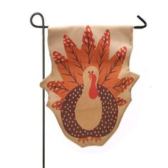 Iusun Hot ! Thanksgiving Turkey Fall Flag Garden Flag Room Home Decor ** Trust me, this is great! Click the image. : home diy garden