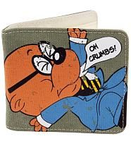 """Buy Danger Mouse Penfold Wallet at Mighty Ape Australia. DangerMouse Penfold """"Oh Crumbs"""" Bi-Fold Wallet Nylon interior with numerous credit card pockets, open compartments for notes, and a zipped change poc. Danger Mouse, Mighty Ape, Canvas Wallet, A Team, Childhood Memories, Geek Stuff, Valentines, Cartoon, Retro"""