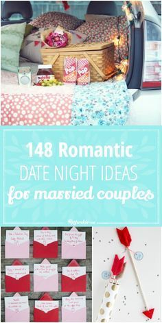 148 Romantic Date Night Ideas for Married Couple by @TipJunkie
