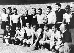World Cup winners Uruguay 1950
