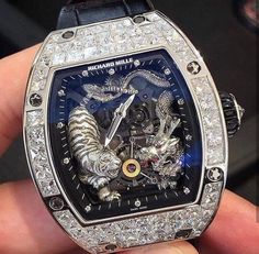 Crazy Richard Mille RM Tourbillon Tiger & Dragon Michelle Yeoh 🤯 Limited to 20 pieces world wide 🐉🐯 ~ 💲 📸 DM me for cred 🔗… Richard Mille, Men's Watches, Cool Watches, Fashion Watches, Unique Watches, Stylish Watches, Luxury Watches For Men, Skeleton Watches, Expensive Watches