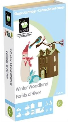 Winter Woodland Cricut Cartridge