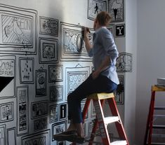 SingleBubblePop: drawing on the walls