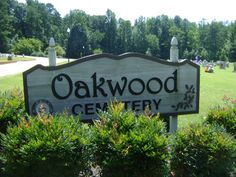 Oakwood Cemetery   Siler City  Chatham County  North Carolina, USA...Frances Bavier buried here.