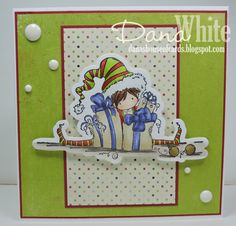 Tiny Townie Ellie the Elf by Dana White  Image from Stamping Bella