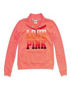 Half-Zip Hoodie - Victoria's Secret PINK - Victoria's Secret