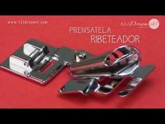 Prensatela Ribeteador - YouTube
