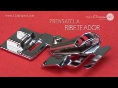 Prensatela Ribeteador - YouTube
