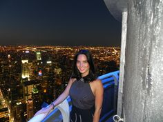 July 4, 2013: #OliviaMunn watched the #4thOfJuly fireworks and our light show from a special viewing party at the Empire State Building Observatory and VIP 103rd floor. #EmpireStateBuilding #onlyatESB #NYC #celebrity