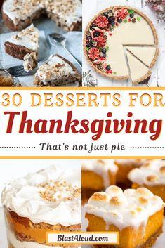 Thanksgiving Desserts Easy, Fall Dessert Recipes, Holiday Desserts, Just Desserts, Fall Recipes, Holiday Recipes, Just Pies, Bakery Recipes, Fall Baking