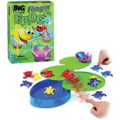 Magnet Game by Dowling Magnets Froggie Checkers Mr