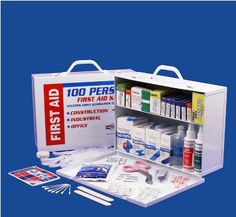 Two Shelf First Aid Cabinet