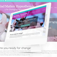 """The New Website for Mind Matters Hypnotherapy in Perth, Australia is now """"Live"""" at http://mindmattershypnotherapy.com.au/"""
