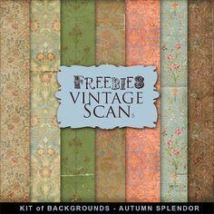 New Freebies Kit of Backgrounds - Autumn Splendor:Far Far Hill - Free database…