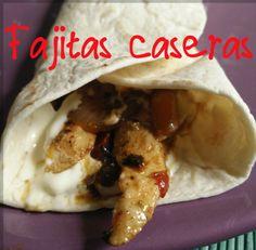 PREPARA TUS FAJITAS CASERAS  ¿Te gusta la comida mexicana? Pues toma de esta #receta y prepara unas sabrosas fajitas caseras.