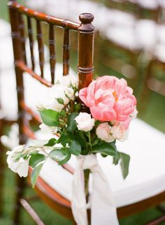 Peonies and roses: http://www.stylemepretty.com/2014/11/06/summer-winery-wedding-with-pops-of-pink/ | Photography: KT Merry - http://www.ktmerry.com/