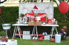 Vintage Basketball Birthday Party via Kara's Party Ideas KarasPartyIdeas.com (16)