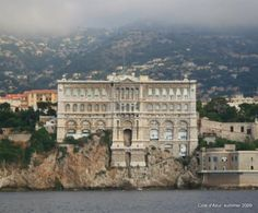 Monaco-Ville, Monaco : Oceanographic museum, Monaco. This was Jacques Costeau's research institute.
