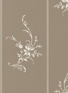 Kleine Blumen für das Esszimmer: Tapete Elsinore Floral von Ralph Lauren