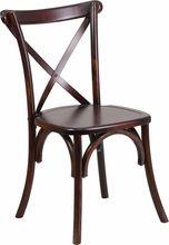 Hercules Series Fruitwood Cross Back Chair. Flash Furniture, 11/05/15