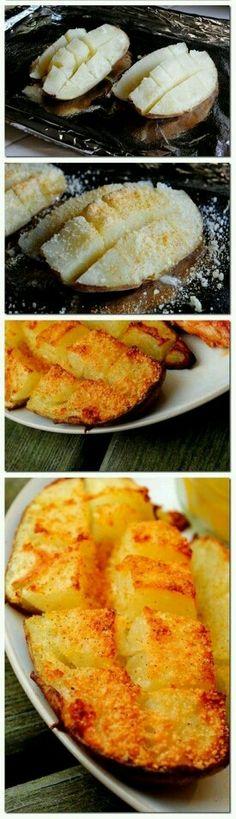 A novel way to prepare potatoes