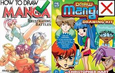 How to Draw Manga and How NOT to Draw Manga | Chucks Anime Shrine