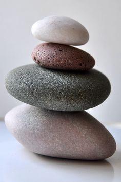 Pile of stones by Ginny Dorrington