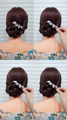 How to Braid? 20 Braid Hairstyles Tutorials in 2019 In 2019 Braid hairstyle has always been a symbol of beauty. And no matter, short or long hair, hair with braids will always give originality, mysteriousness, and charm to your image. Braided Hairstyles Tutorials, Easy Hairstyles, Girl Hairstyles, Popular Hairstyles, Wedding Hairstyles, Hairstyle Ideas, Braid Tutorials, Gorgeous Hairstyles, Hairstyle Short